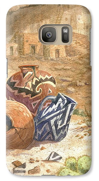 Galaxy Case featuring the painting Remnants Of The Ancient Ones by Marilyn Smith