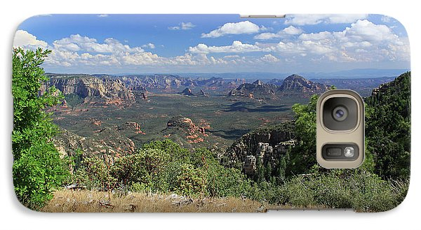 Galaxy Case featuring the photograph Remote Vista by Gary Kaylor
