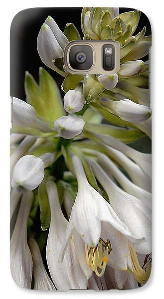 Galaxy Case featuring the photograph Renaissance Lily by Marie Hicks