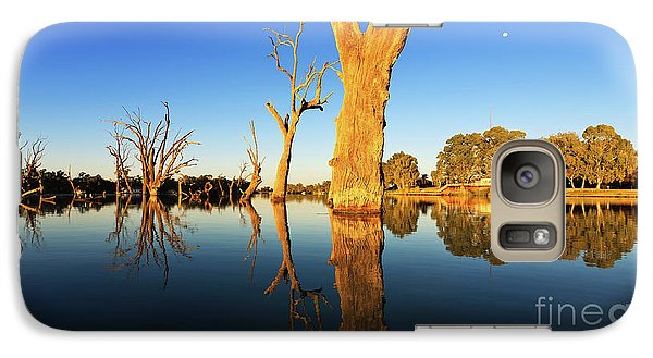 Galaxy Case featuring the photograph Renamrk Murray River South Australia by Bill Robinson