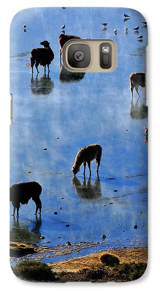 Galaxy Case featuring the photograph Rendezvous by Skip Hunt