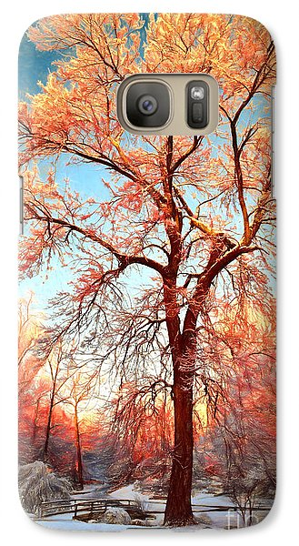 Galaxy Case featuring the painting Renewal by Dan Carmichael