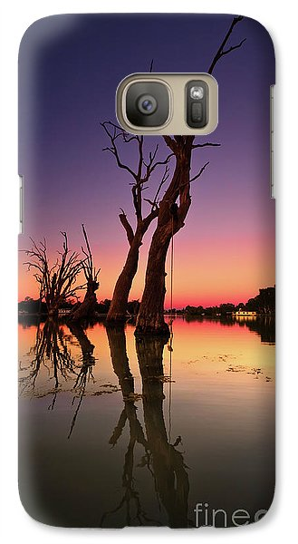 Galaxy Case featuring the photograph Renmark South Australia Sunset by Bill Robinson