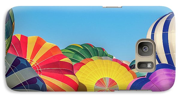 Galaxy Case featuring the photograph Reno Balloon Races by Bill Gallagher