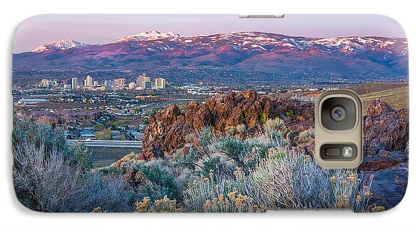Galaxy Case featuring the photograph Reno Nevada Spring Sunrise by Scott McGuire