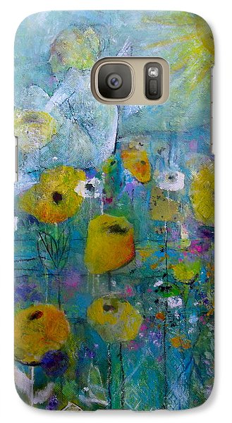 Galaxy Case featuring the painting Resting Assured by Eleatta Diver