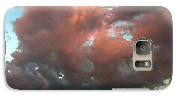 Galaxy Case featuring the photograph Resting In The Sunset by Carolyn Dalessandro