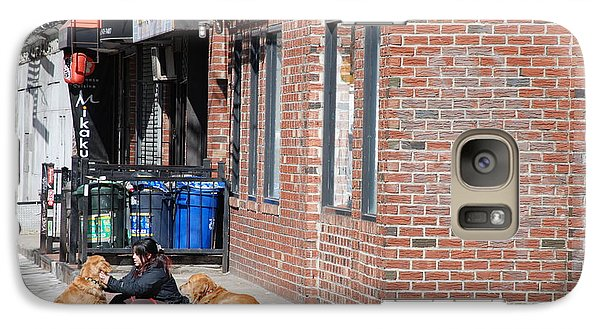 Galaxy Case featuring the photograph Resting On The Corner by Rob Hans