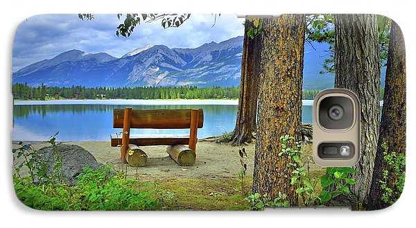 Galaxy Case featuring the photograph Resting Place At Lake Annette by Tara Turner