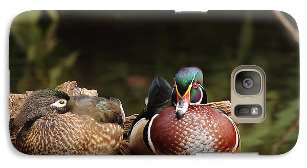 Resting Wood Ducks Galaxy S7 Case