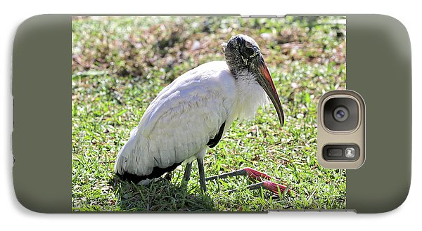 Resting Wood Stork Galaxy S7 Case