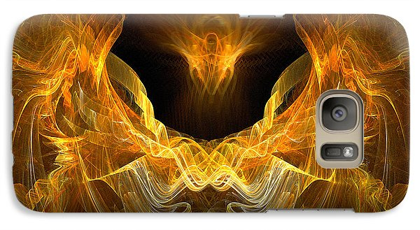Galaxy Case featuring the digital art Resurrection by R Thomas Brass