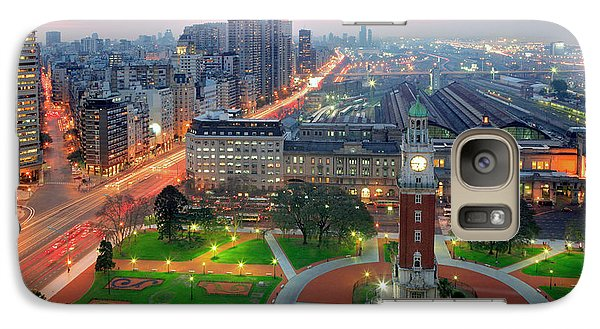 Galaxy Case featuring the photograph Retiro Buenos Aires by Bernardo Galmarini