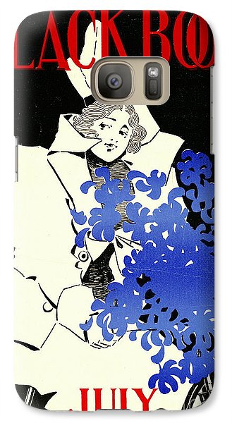 Galaxy Case featuring the photograph Retro Bicycle Cover 1896 by Padre Art