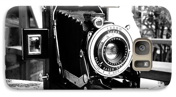 Galaxy Case featuring the photograph Retro Camera by Daniel Dempster