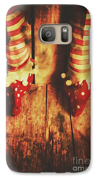 Elf Galaxy S7 Case - Retro Elf Toes by Jorgo Photography - Wall Art Gallery