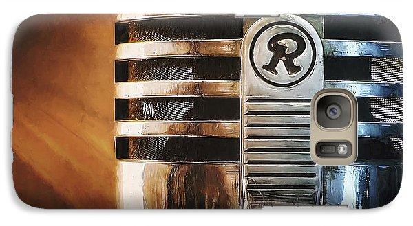 Retro Microphone Galaxy Case by Scott Norris