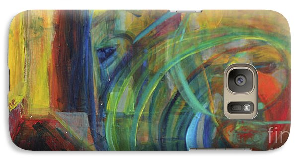 Galaxy Case featuring the painting Return by Daun Soden-Greene
