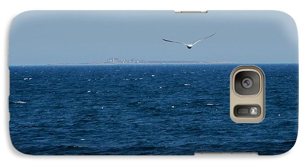 Galaxy Case featuring the digital art Return To The Isle Of Shoals by Barbara S Nickerson