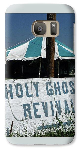 Galaxy Case featuring the photograph Revival Tent by Joe Jake Pratt