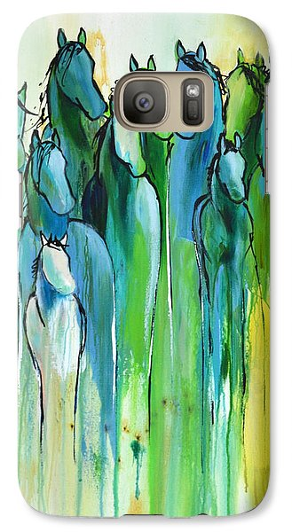 Galaxy Case featuring the painting Revive by Cher Devereaux