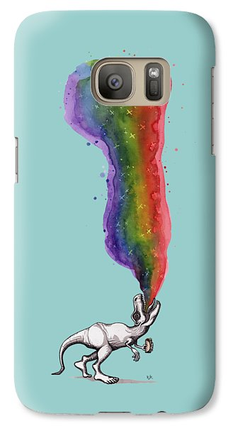 Rex Galaxy Case by Kelly Jade King