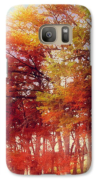 Galaxy Case featuring the digital art Rhapsody In Fall by Wendy J St Christopher