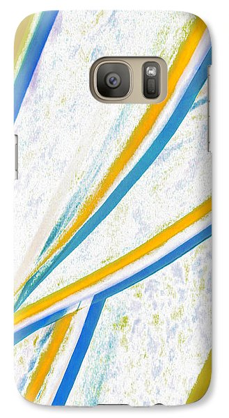 Galaxy Case featuring the digital art Rhapsody In Leaves No 1 by Ben and Raisa Gertsberg
