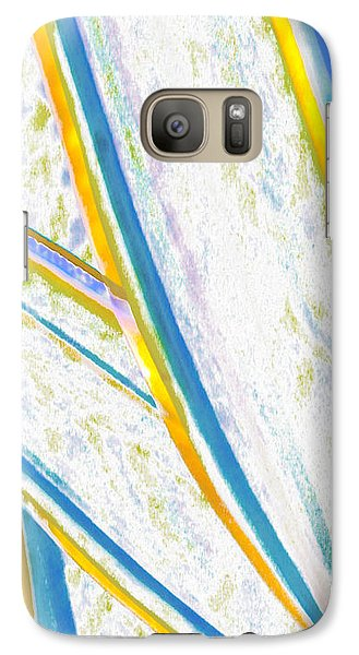 Galaxy Case featuring the digital art Rhapsody In Leaves No 2 by Ben and Raisa Gertsberg