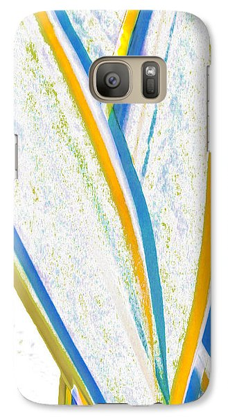 Galaxy Case featuring the digital art Rhapsody In Leaves No 3 by Ben and Raisa Gertsberg