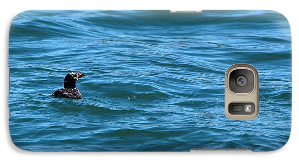 Rhinoceros Auklet Galaxy S7 Case