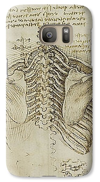 Galaxy Case featuring the painting Ribcage Main by James Christopher Hill
