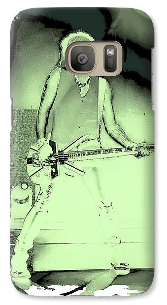 Def Leppard Galaxy S7 Case - Rick Savage - Def Leppard by David Patterson