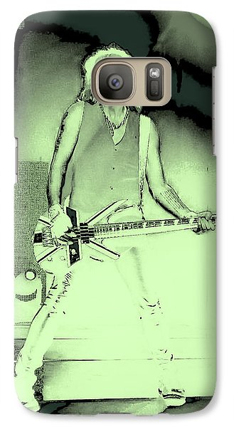 Rick Savage - Def Leppard Galaxy Case by David Patterson