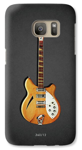 Jazz Galaxy S7 Case - Rickenbacker 360 12 1964 by Mark Rogan