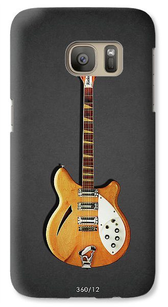 Music Galaxy S7 Case - Rickenbacker 360 12 1964 by Mark Rogan