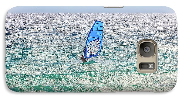 Galaxy Case featuring the photograph Ride The Waves, Scarborough Beach by Dave Catley