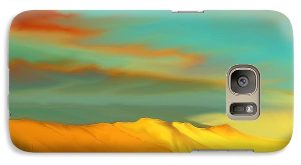 Galaxy Case featuring the digital art Ridge by Kerry Beverly