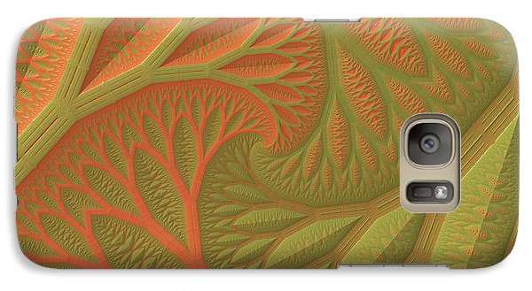 Galaxy Case featuring the digital art Ridges And Valleys by Lyle Hatch