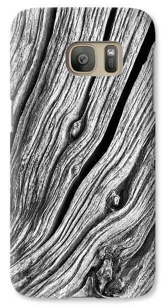 Galaxy Case featuring the photograph Ridges - Bw by Werner Padarin