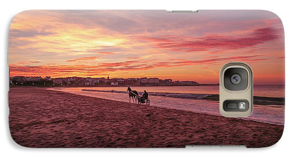 Galaxy Case featuring the photograph Riding Home by Roy McPeak