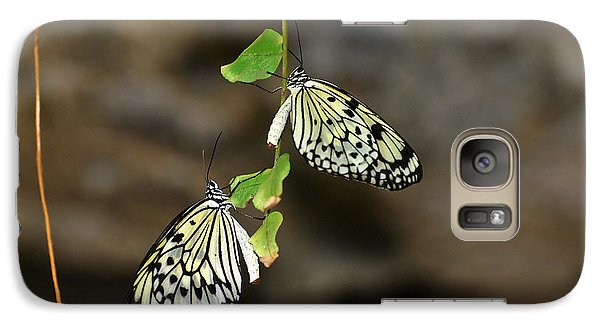 Galaxy Case featuring the photograph Right And Left Wings by Teresa Blanton