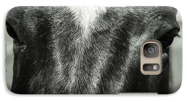 Galaxy Case featuring the photograph Right Between The Eyes by Jason Moynihan