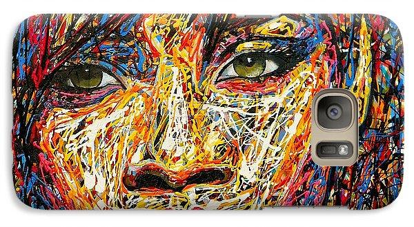 Rihanna Galaxy S7 Case by Angie Wright