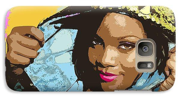 Rihanna Galaxy S7 Case by John Keaton