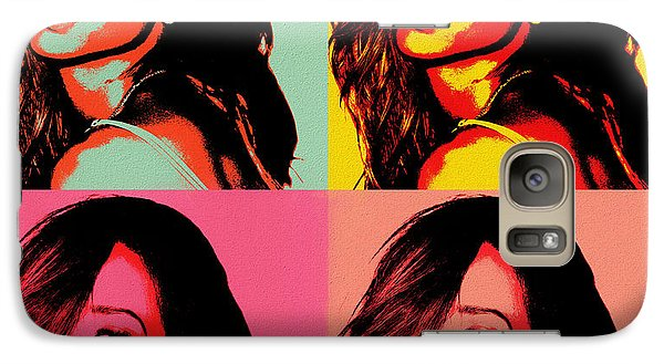 Rihanna Pop Art Galaxy S7 Case