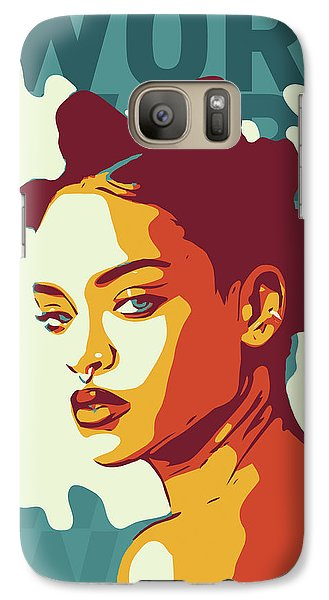Rihanna Galaxy S7 Case