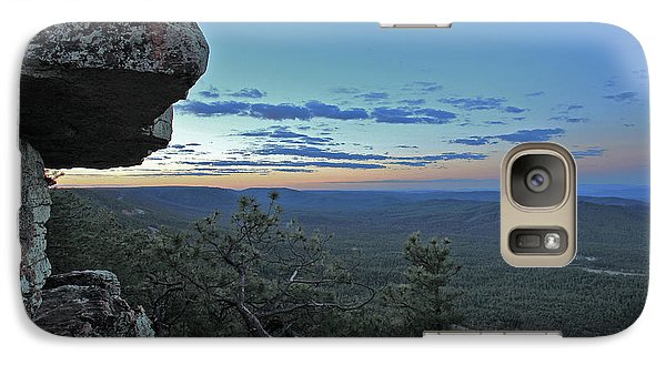 Galaxy Case featuring the photograph Rim Daybreak by Gary Kaylor