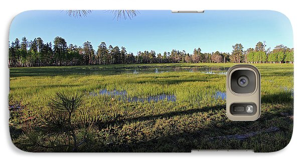 Galaxy Case featuring the photograph Rim Glade by Gary Kaylor