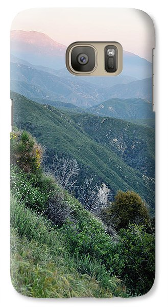 Galaxy Case featuring the photograph Rim O' The World National Scenic Byway II by Kyle Hanson